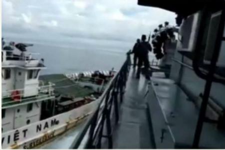 印尼政府击沉51艘外国渔船 大部分渔船来自越南
