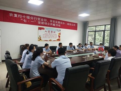农发行十堰市分行营业部开展丰富多彩的主题党日活动